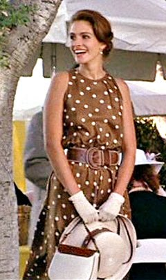 Julia Roberts Horse Races Dress